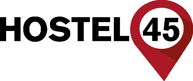Hostel45 Bonn EN Logo
